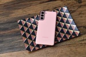 Samsung Galaxy S21 roze